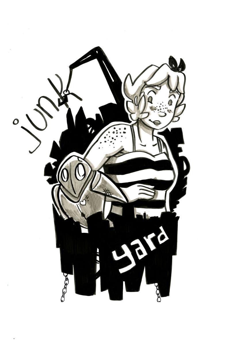Junkyard Cover